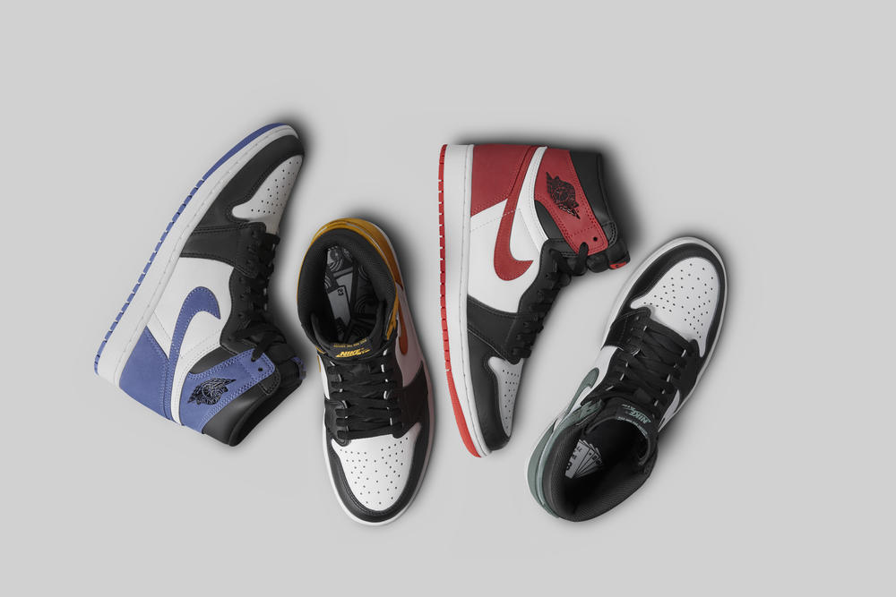 The Best Hand in the Game Collection of Air Jordan 1s