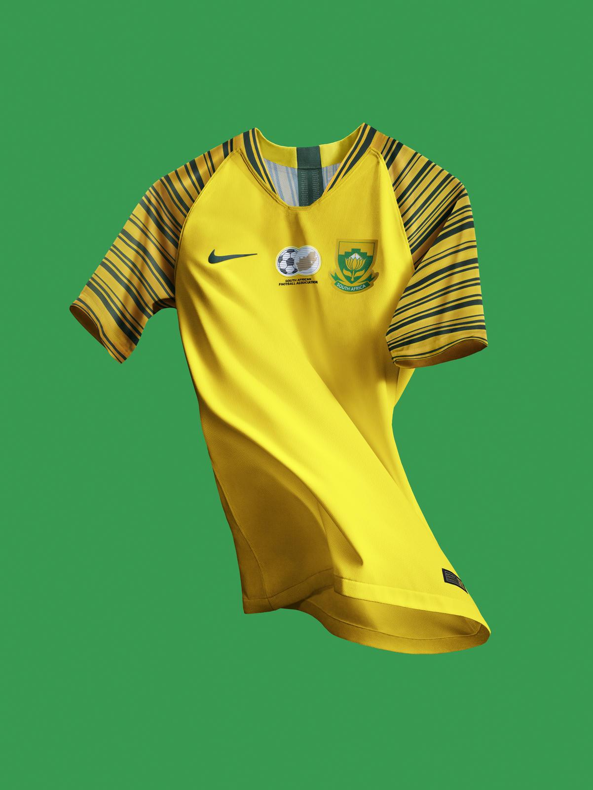 Dazzling Yellow for Bafana Bafana