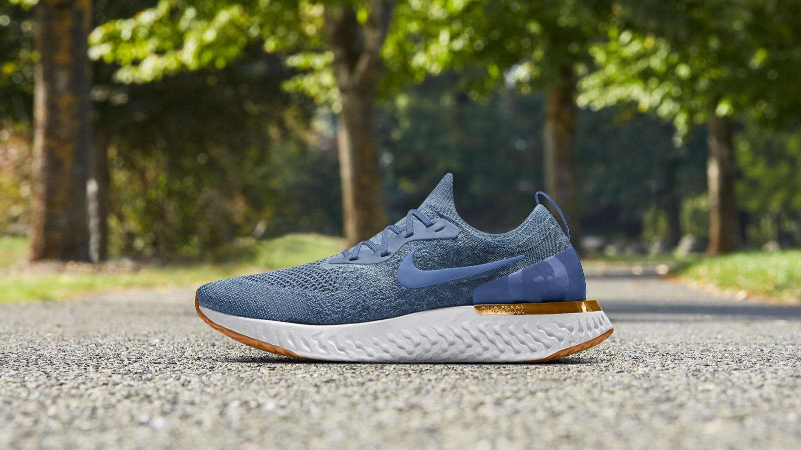 8225baac26653 Nike Epic React Flyknit iD - Nike News