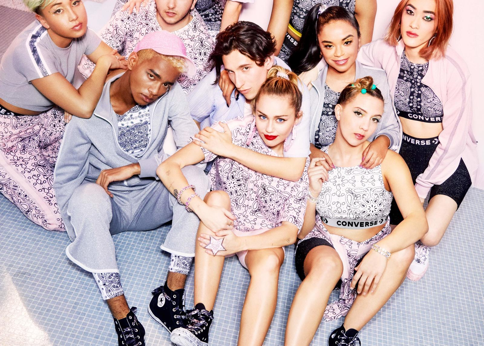 Revealing Miley Cyrus' Collection with Converse 20
