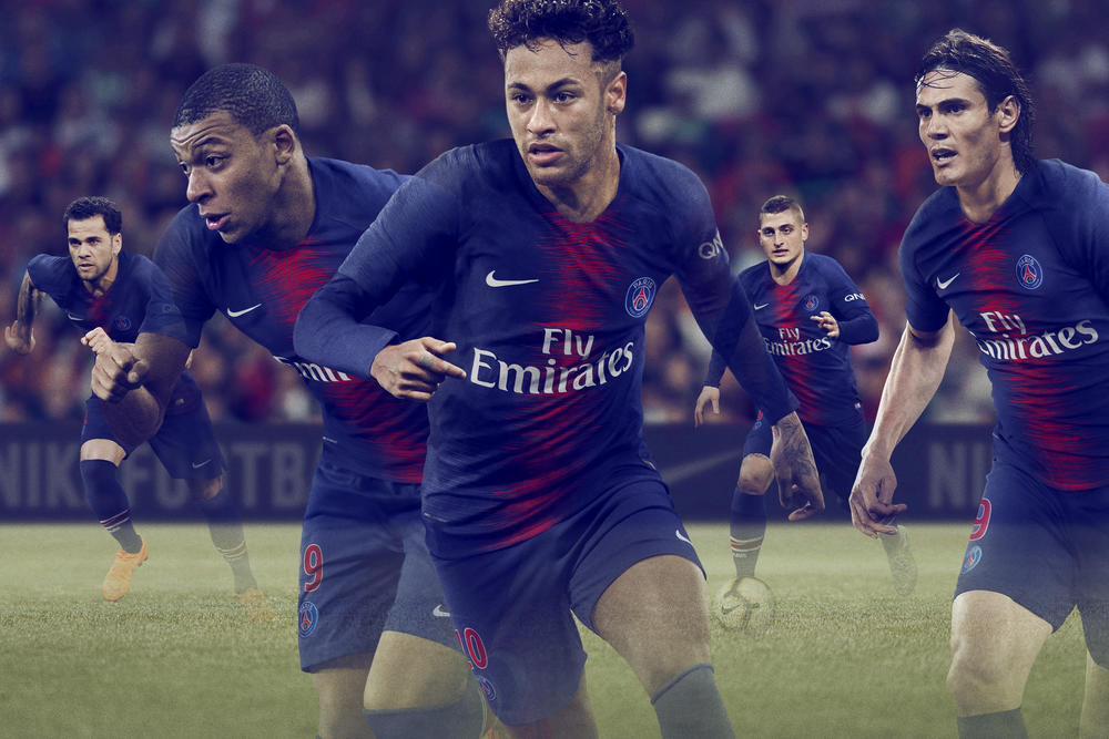 Parc Des Princes' Electric Atmosphere Inspires 2018-19 PSG Home Kit
