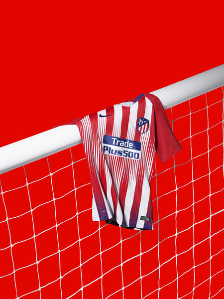 Atlético de Madrid's 2018-19 Home Kit Captures Passion on Pitch and in the Stands