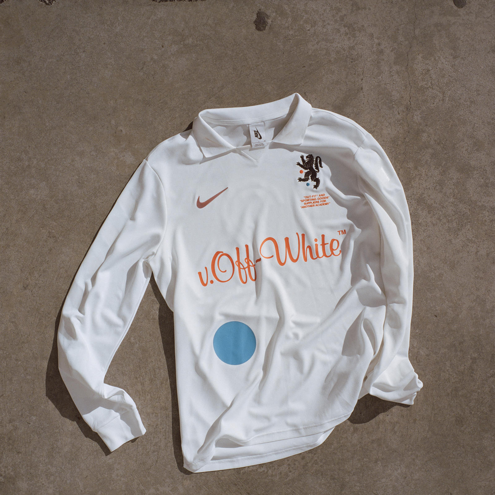 f9ef915d ... Nike x Off-White Away Soccer Jersey. Expressions of Football 11