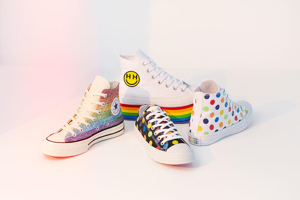 Converse and Miley Cyrus Pride Collection 2018