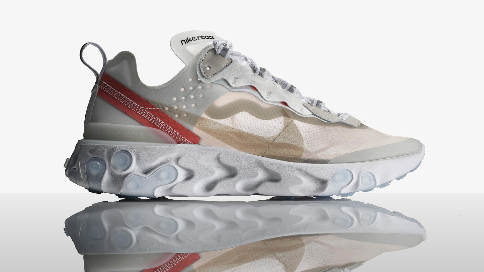 Rudimentary Process, Sophisticated Result: The Nike React Element 87 3