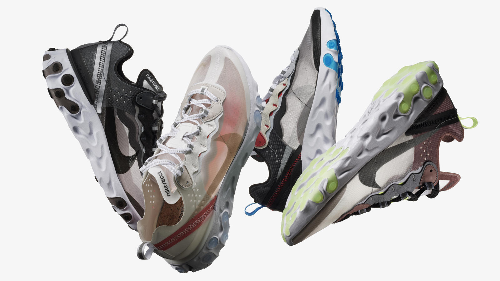 Rudimentary Process, Sophisticated Result: The Nike React Element 87 4