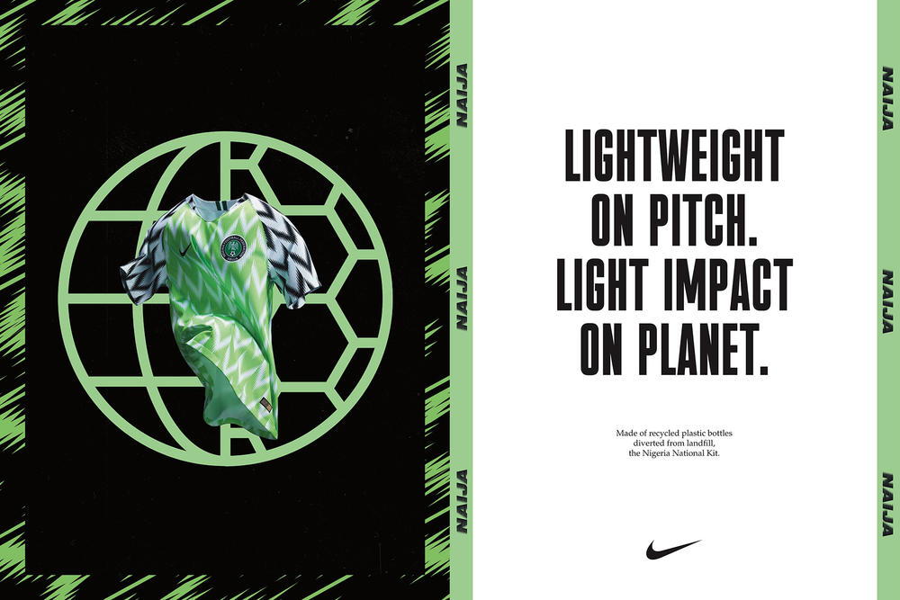 Nike's Football Kits are Made of Recycled Plastic Bottles