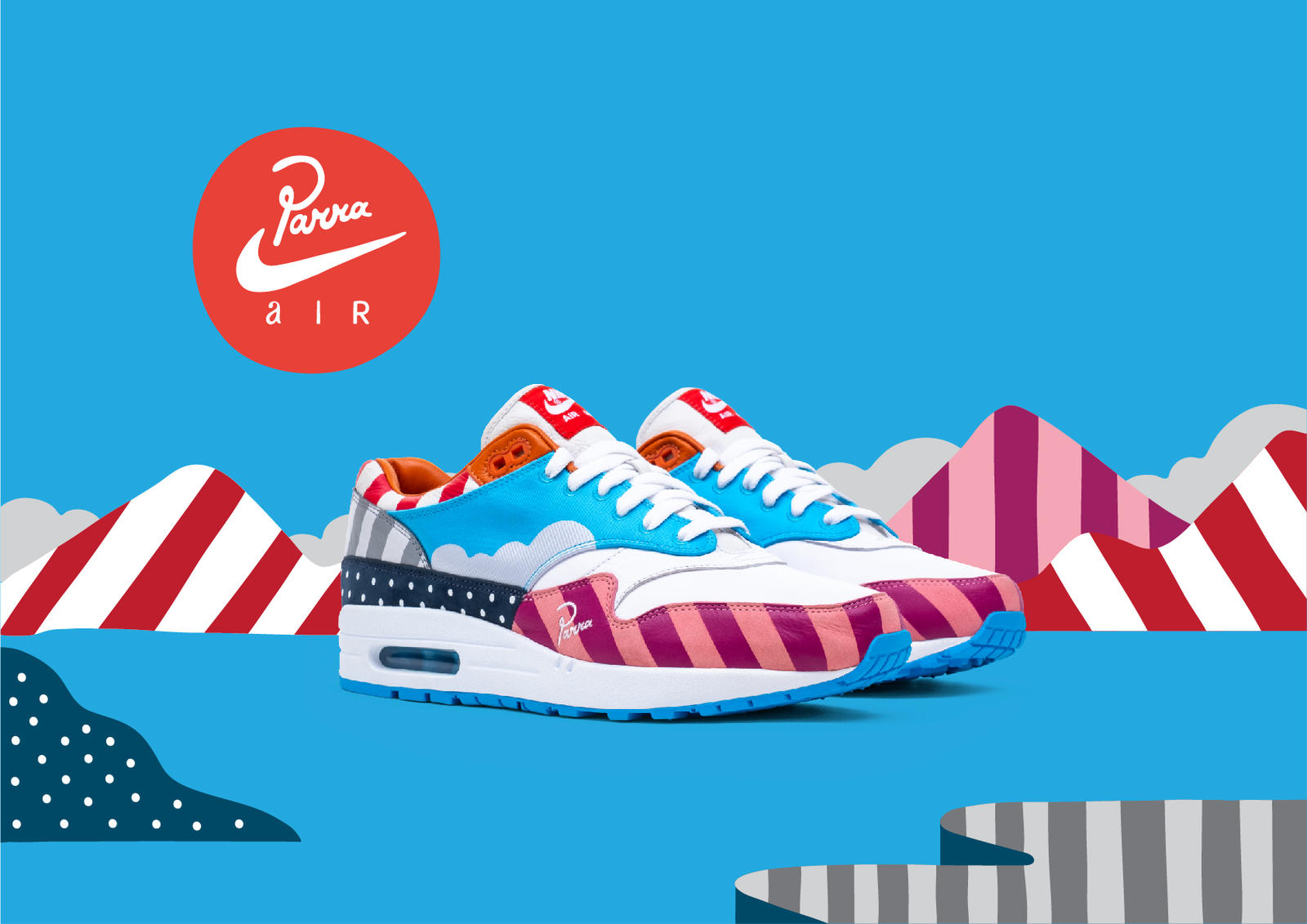Parra Brings Dutch Dynamics to the Air Max 1 and Zoom Spiridon 0