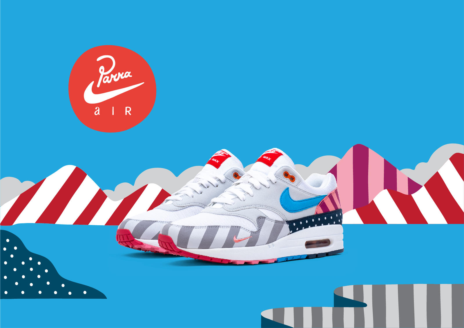 Parra Brings Dutch Dynamics to the Air Max 1 and Zoom Spiridon 1