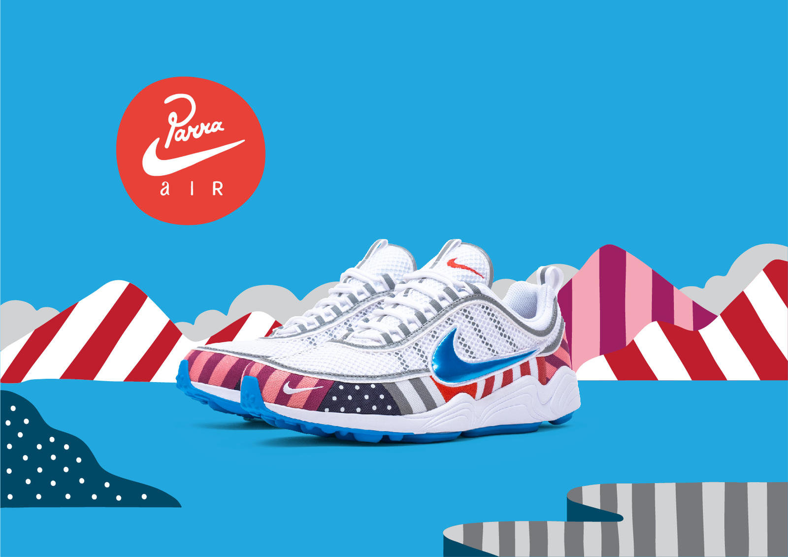 Parra Brings Dutch Dynamics to the Air Max 1 and Zoom Spiridon 2
