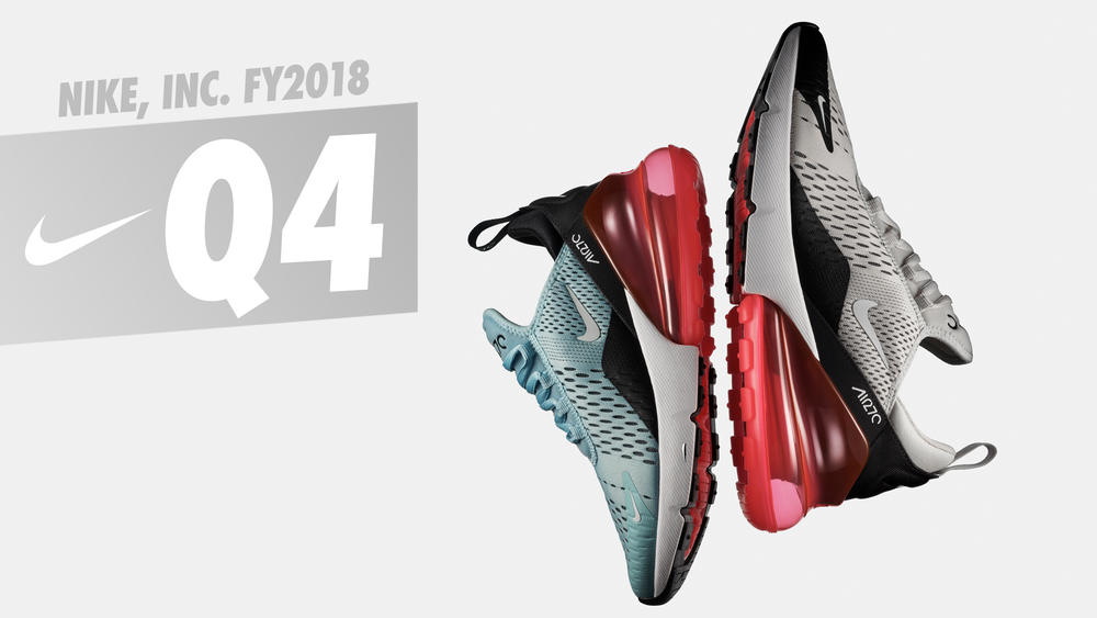 NIKE, Inc. Reports Fiscal 2018 Fourth Quarter and Full Year Results