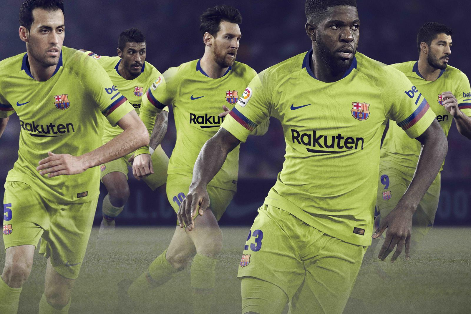 buy online e16c6 551d4 FC Barcelona's Latest Away Kit Revels in a Daring History ...