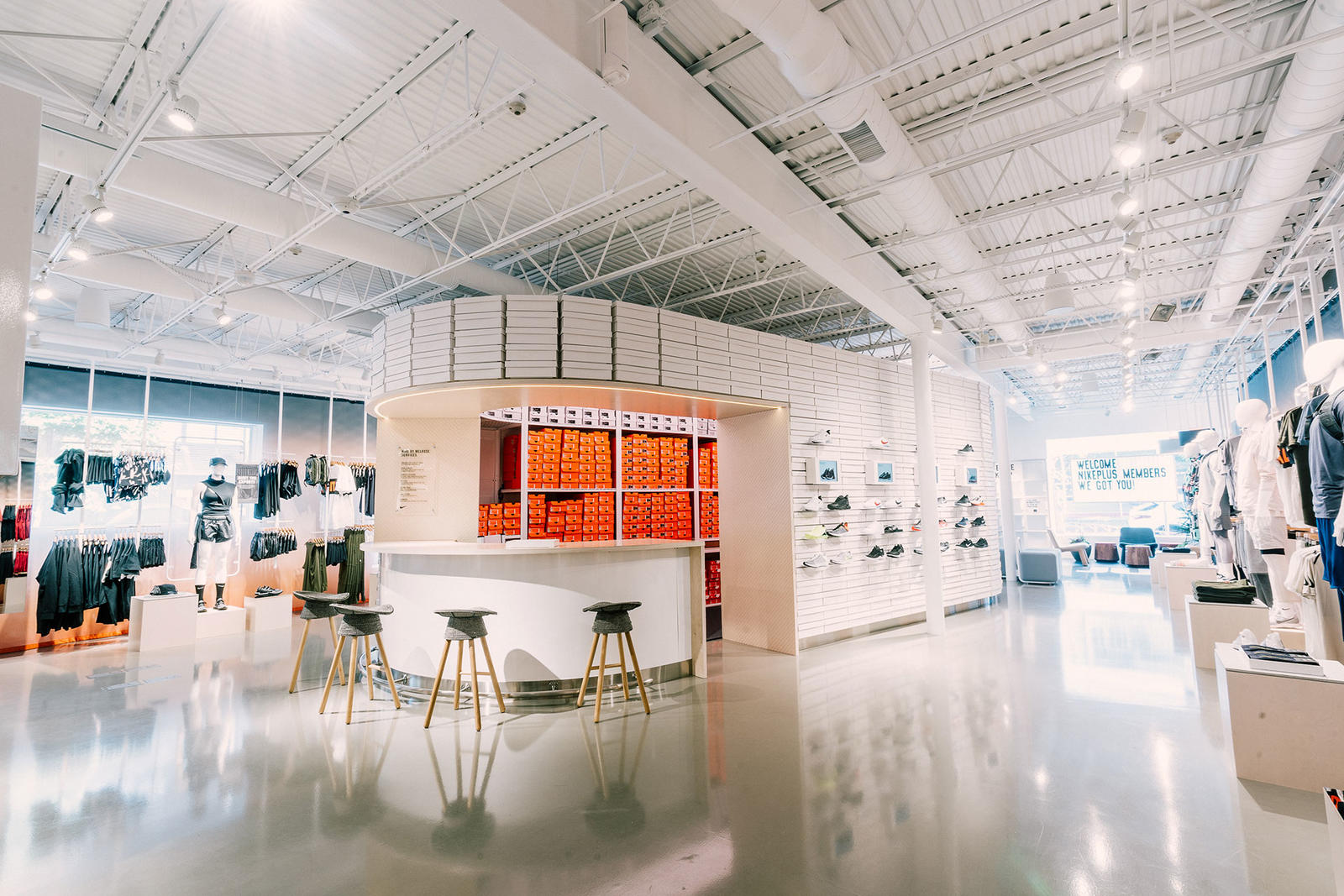 Nike's New Store Was Located And Stocked By You, Los Angeles  1