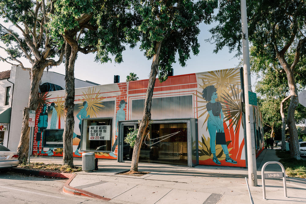 Nike Opens Nike by Melrose Store in Los Angeles