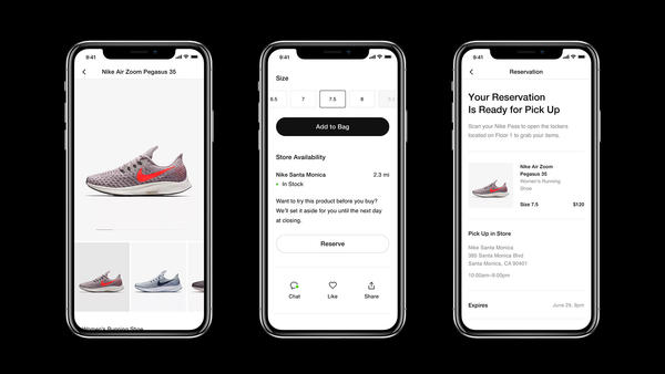 3 Ways the Nike App at Retail Steps Up