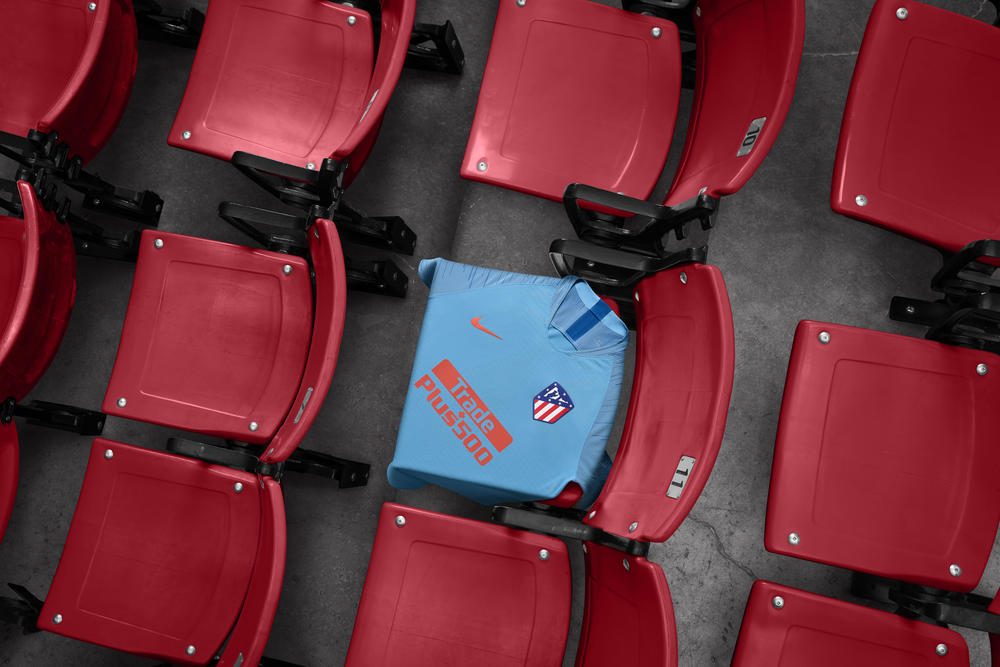 Atlético de Madrid's 2018-19 Away Kit Carries a Two-Tone Blue