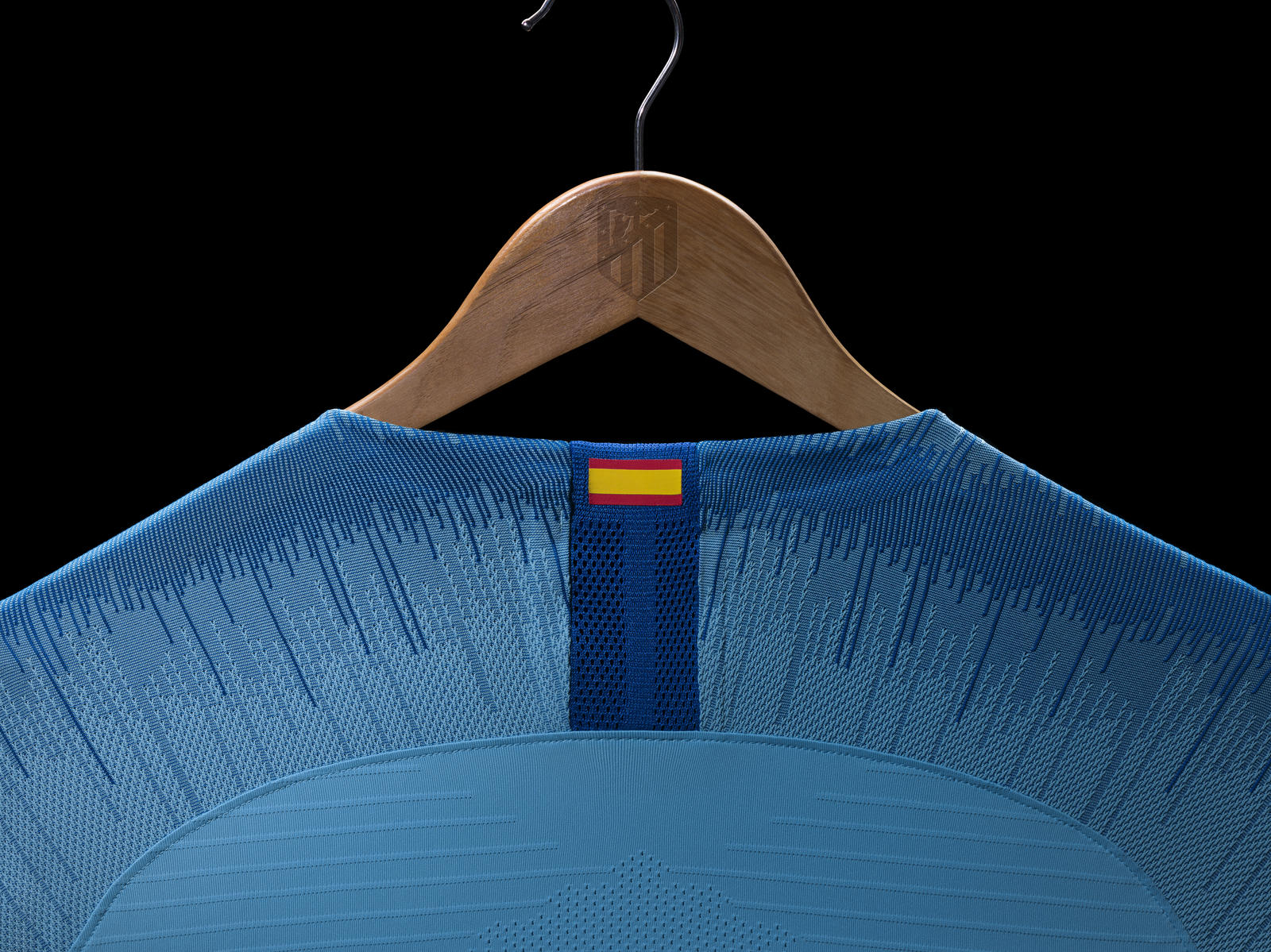 Atltico De Madrid 2018 19 Away Kit Nike News Kaos Polos Twotone Navy Blue The Capital Clubs National Pride Is Represented By A Small Spanish Flag On Rear Of Neck