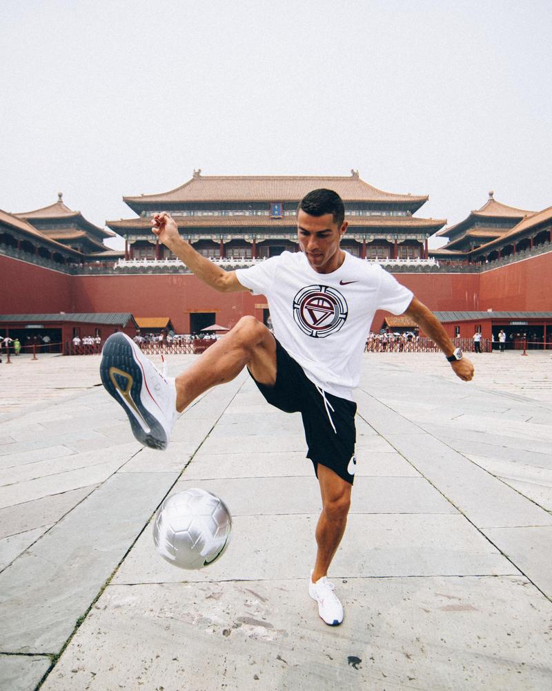 congestión Deportista Plantando árboles  Cristiano Ronaldo's China C罗 Collection - Nike News