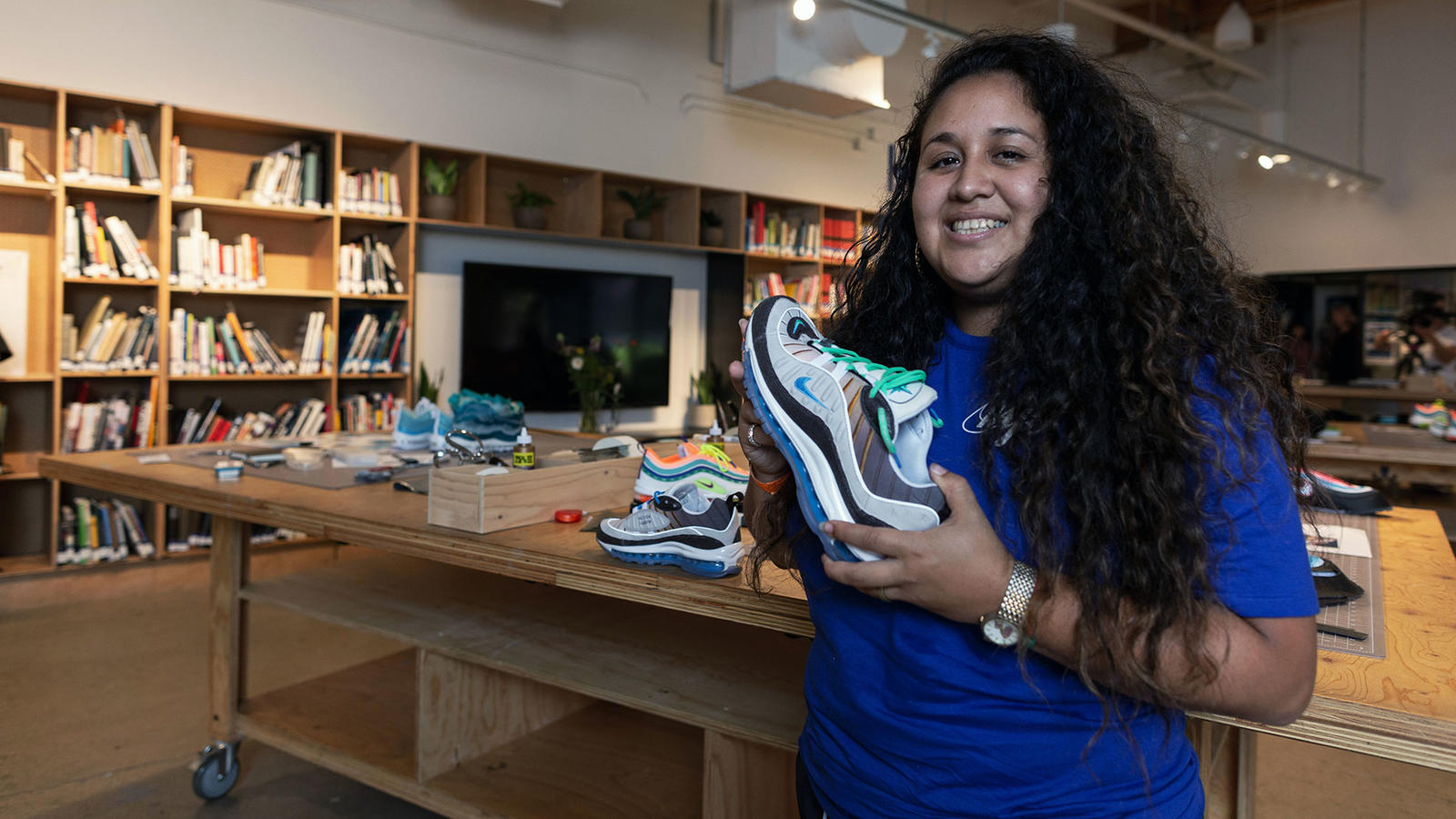 """purchase cheap 11a74 68df0 Gabrielle. Meet the Winners — and Shoes — of the 2018 Nike  On Air Vote 13.  """""""