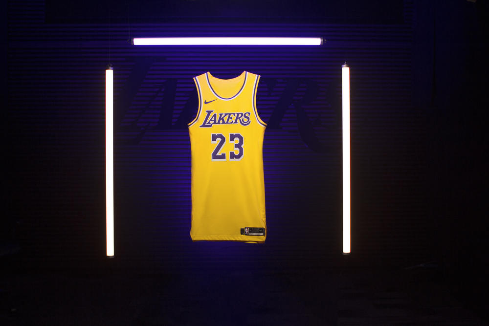 Los Angeles Lakers 2018 Icon Edition LeBron James Jersey