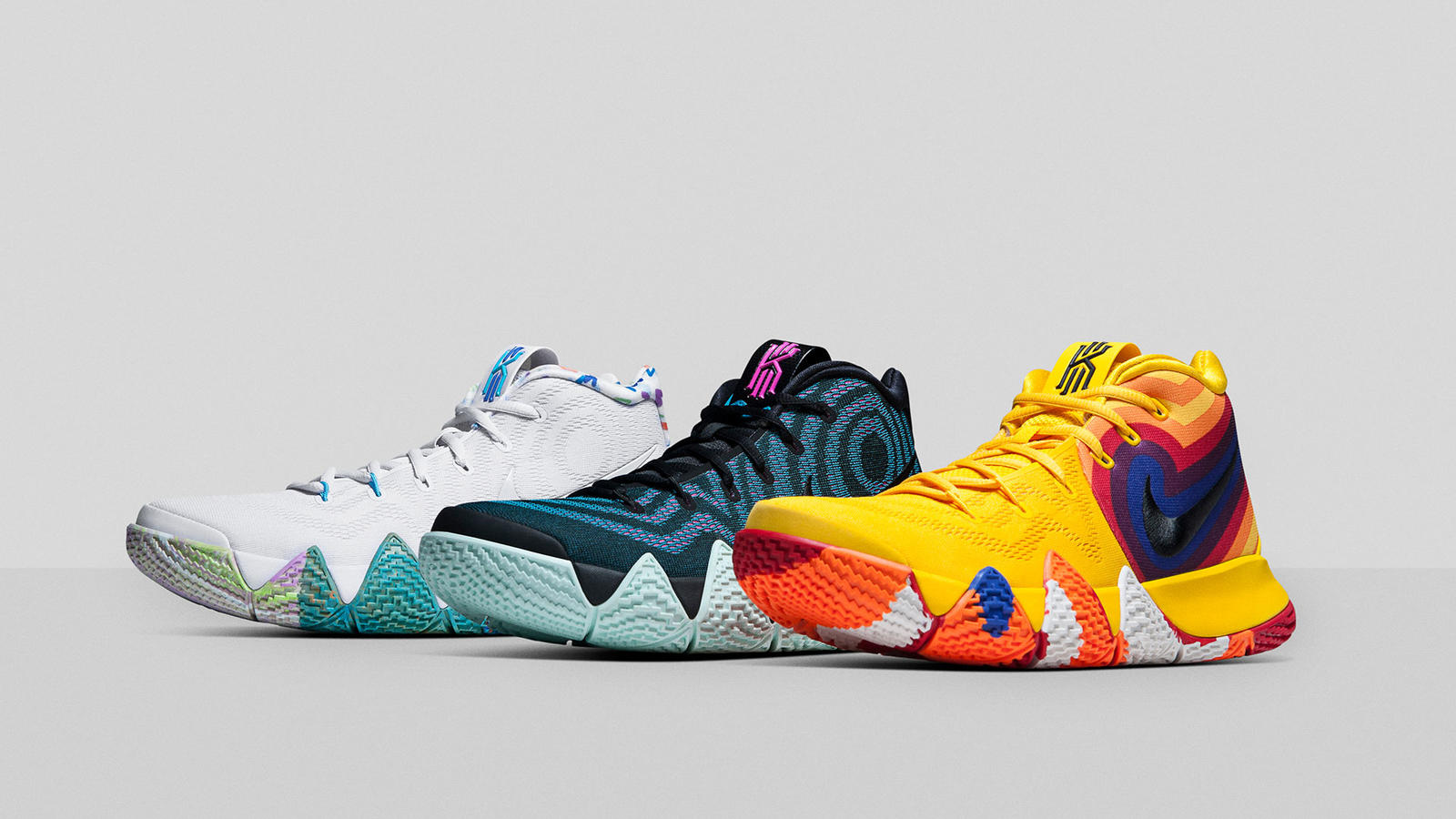 quality design 4df84 374e3 KYRIE 4 Decades Pack - Nike News