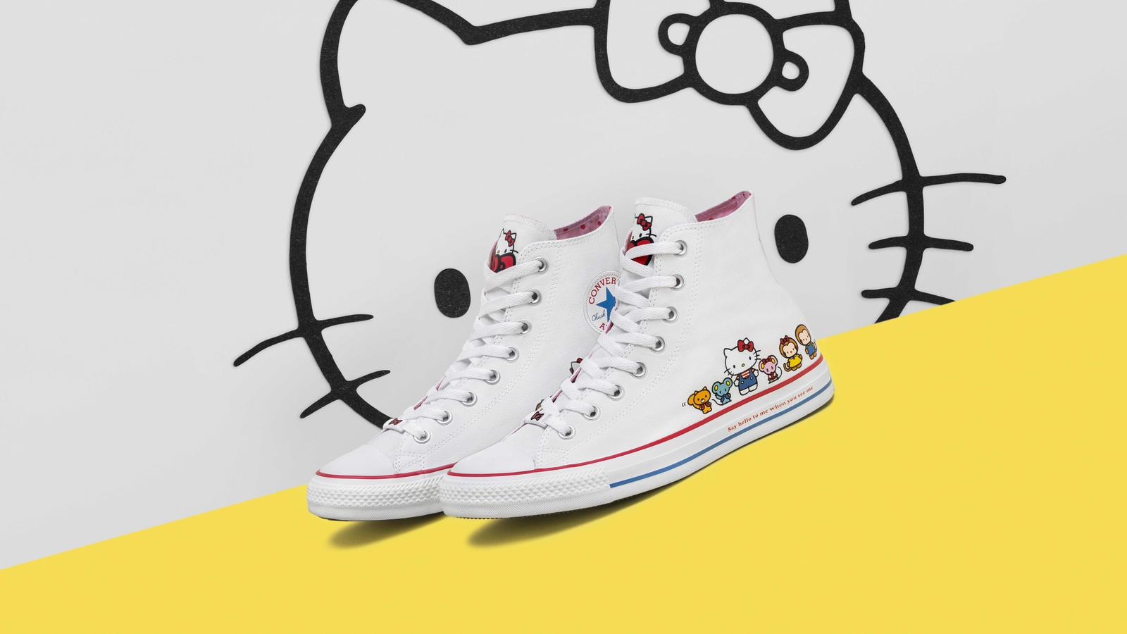 ea0372dbac30 Converse and Hello Kitty  Two Timeless Icons Unite 0