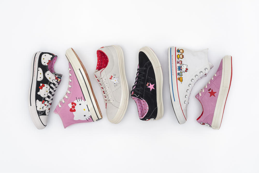 Converse x Hello Kitty Chuck Taylor All Star, Chuck 70 and One Star