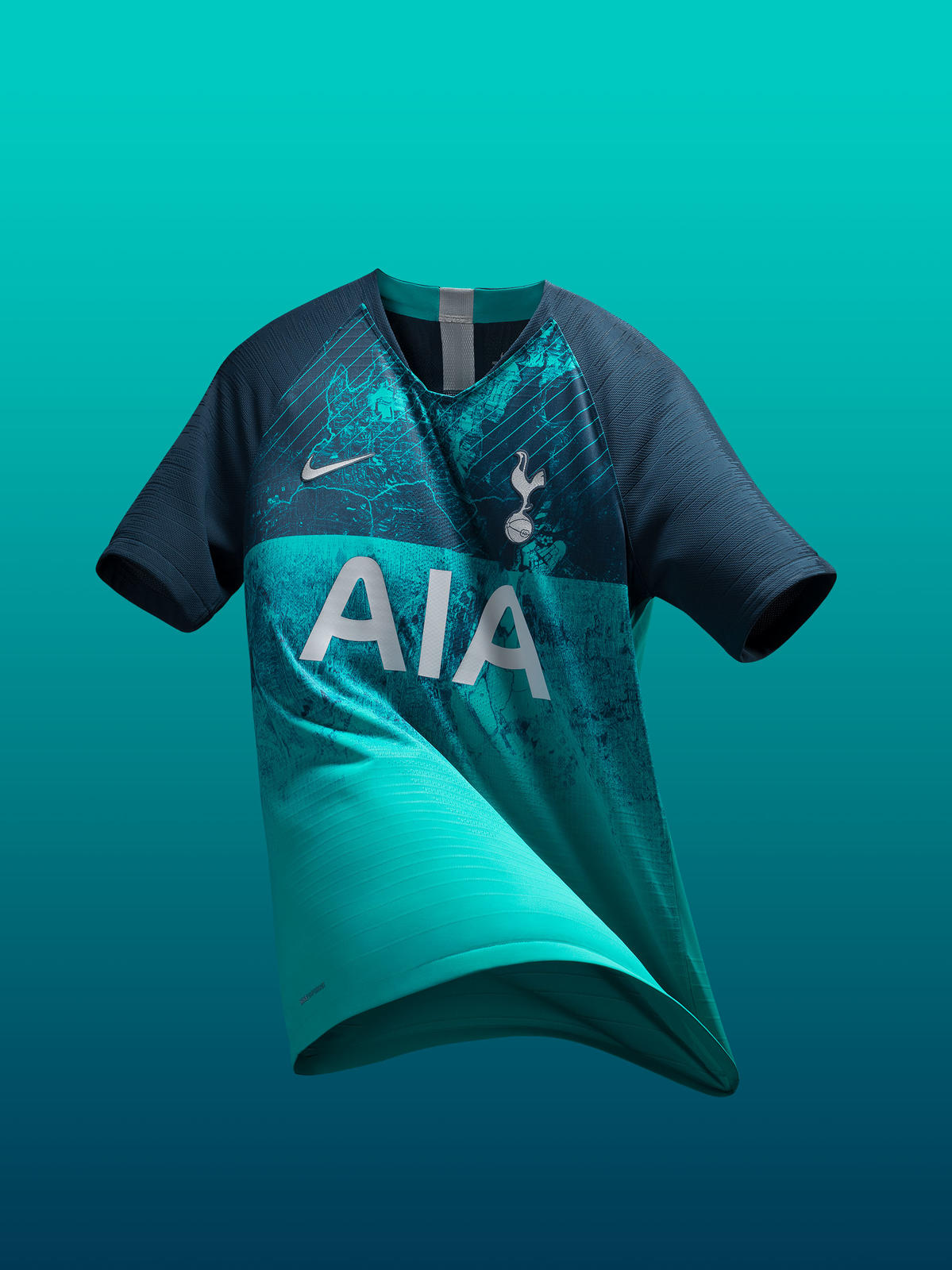 fab34070787 Tottenham Hotspur Goes Full N17 With Its 2018-19 Third Kit - Nike News