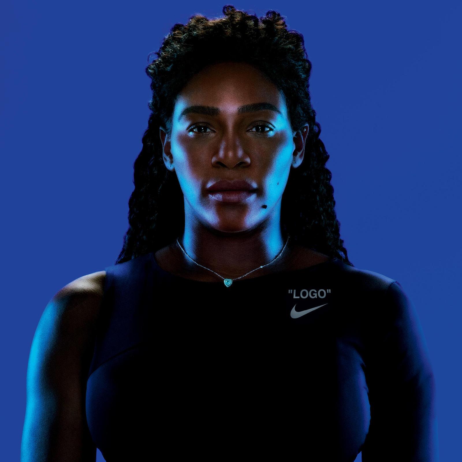 Fortune Favors the Bold: Virgil Abloh Designs Serena Williams