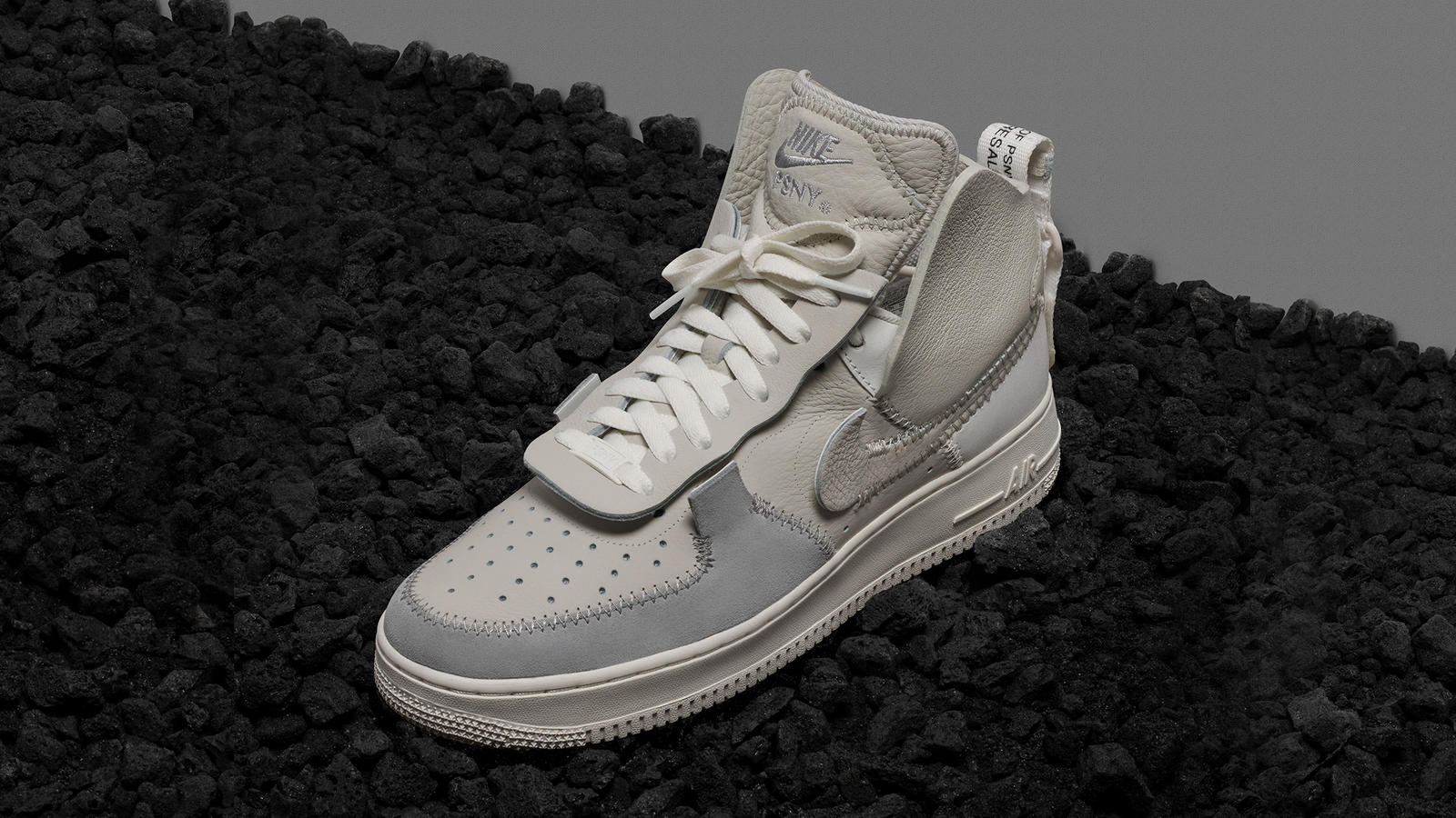 Look For The PSNY x Nike Air Force 1 High Pack (Wolf Grey
