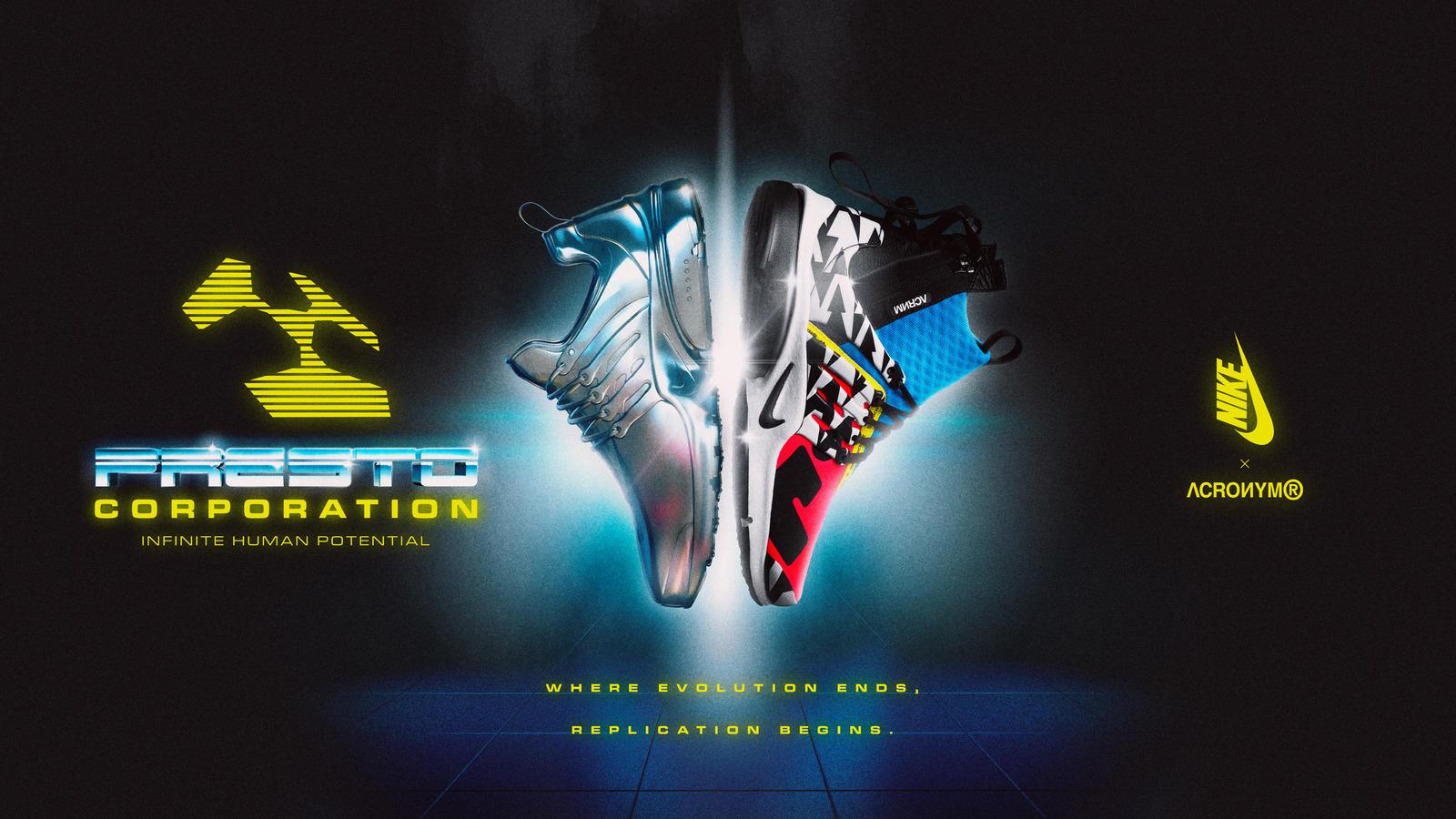 Acronym x Nike Air Presto Mid 0