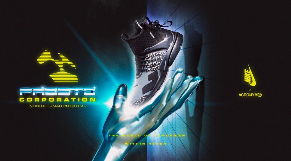 Nike Air Presto Mid x ACRONYM®