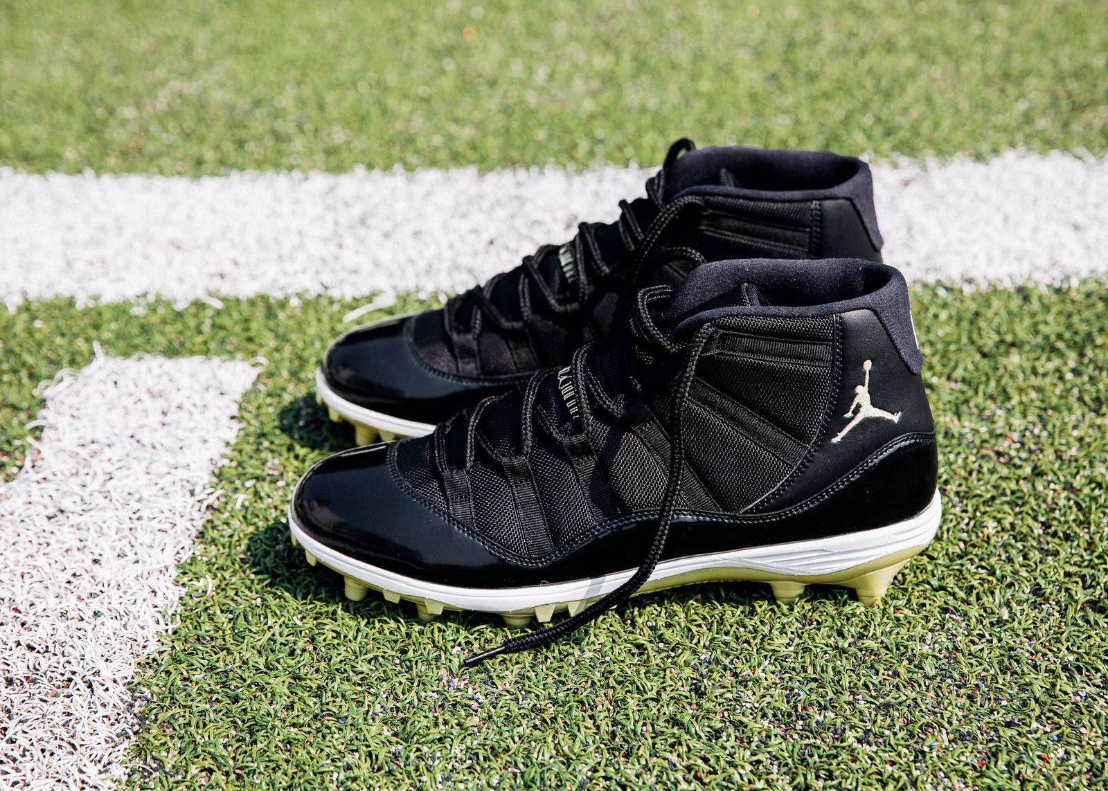 1a129628a The Jumpman Will Appear on NFL Fields for the First Time This Season — Here s  the. Jamal Adams (New York Jets safety). Jordan Brand Welcomes New Players  to ...