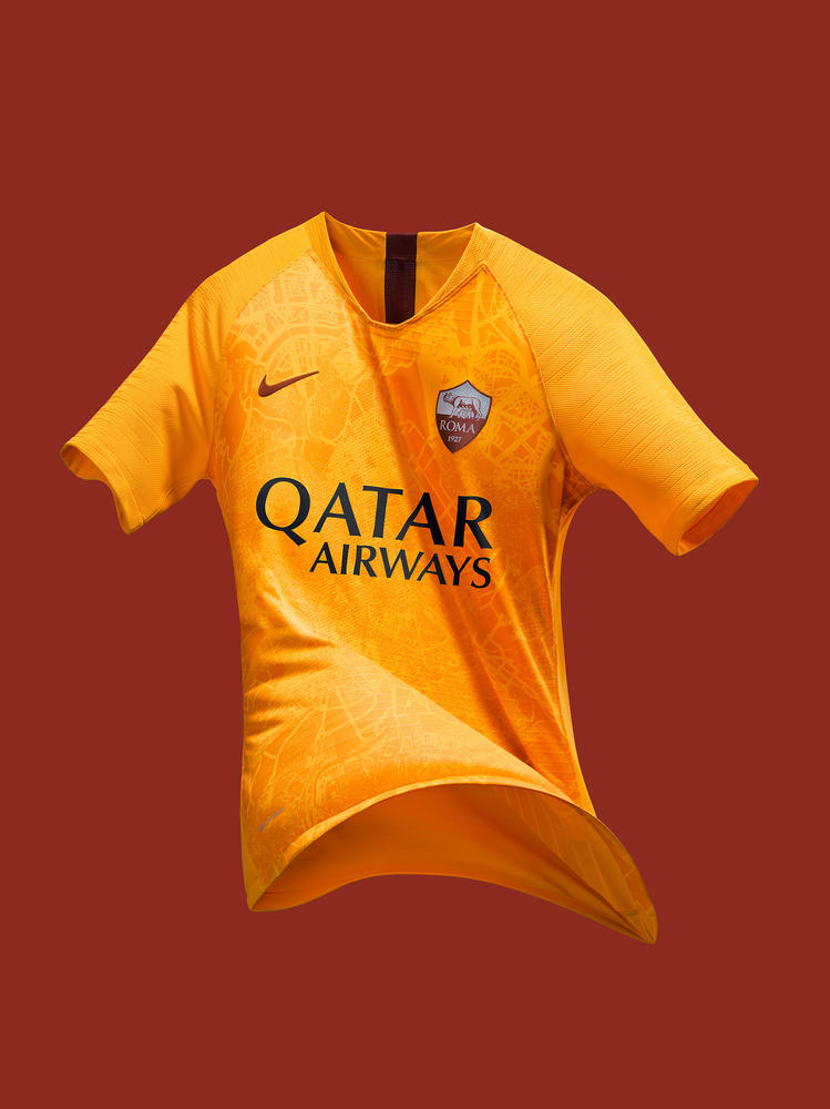 AS Roma's New Third Kit Charts The Eternal City's Rich History