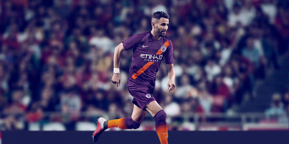 Manchester City FC's 2018-19 Third Kit Reintroduces the Sash