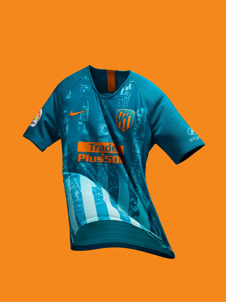 Atlético de Madrid Marks Its Territory with New Third Kit