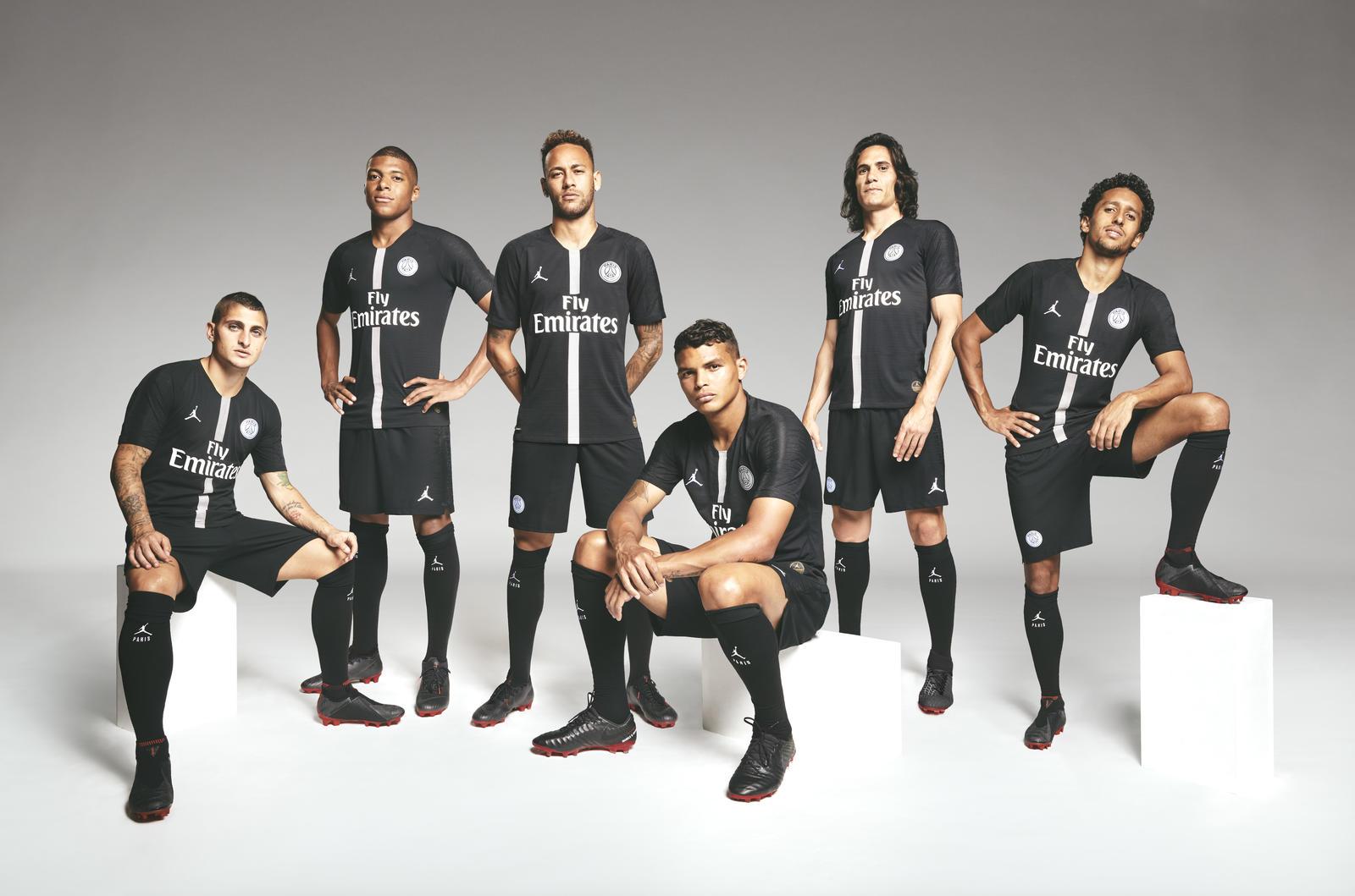 Jordan Brand and Paris Saint-Germain Combine for a Football First ...