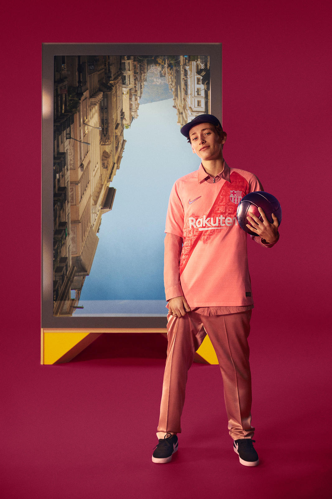 f1873dc85f2 FC Barcelona's 2018-19 Third Kit Continues a Bold and Beautiful Celebration  of the City