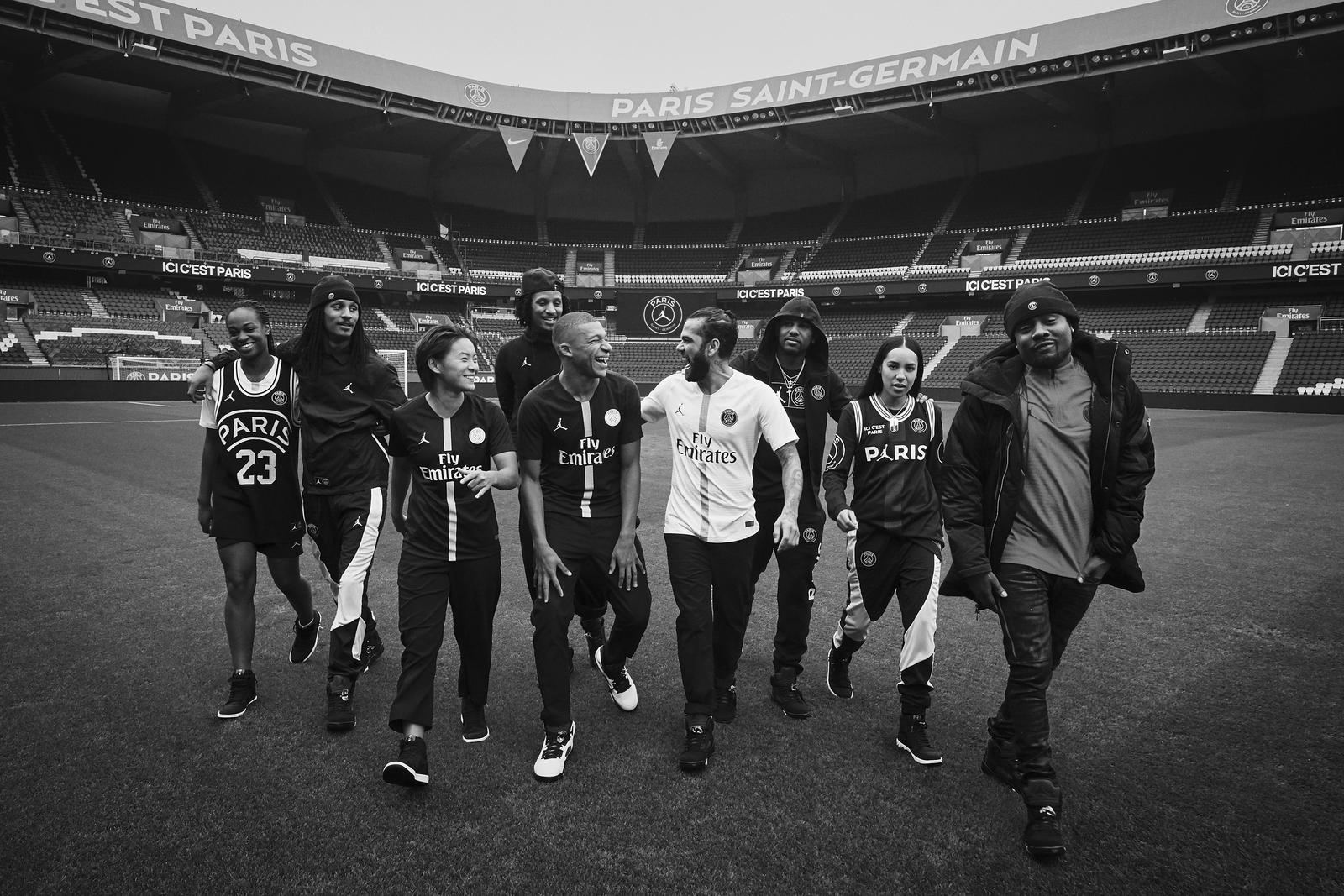 4a95bb2995b Jordan Brand and Paris Saint-Germain Combine for a Football First ...