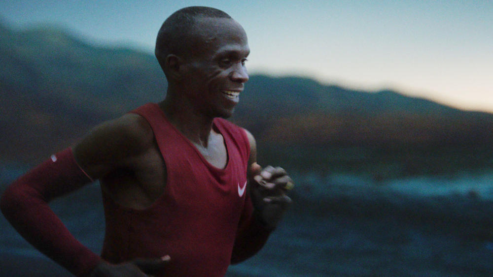 Eliud Kipchoge breaks world marathon record