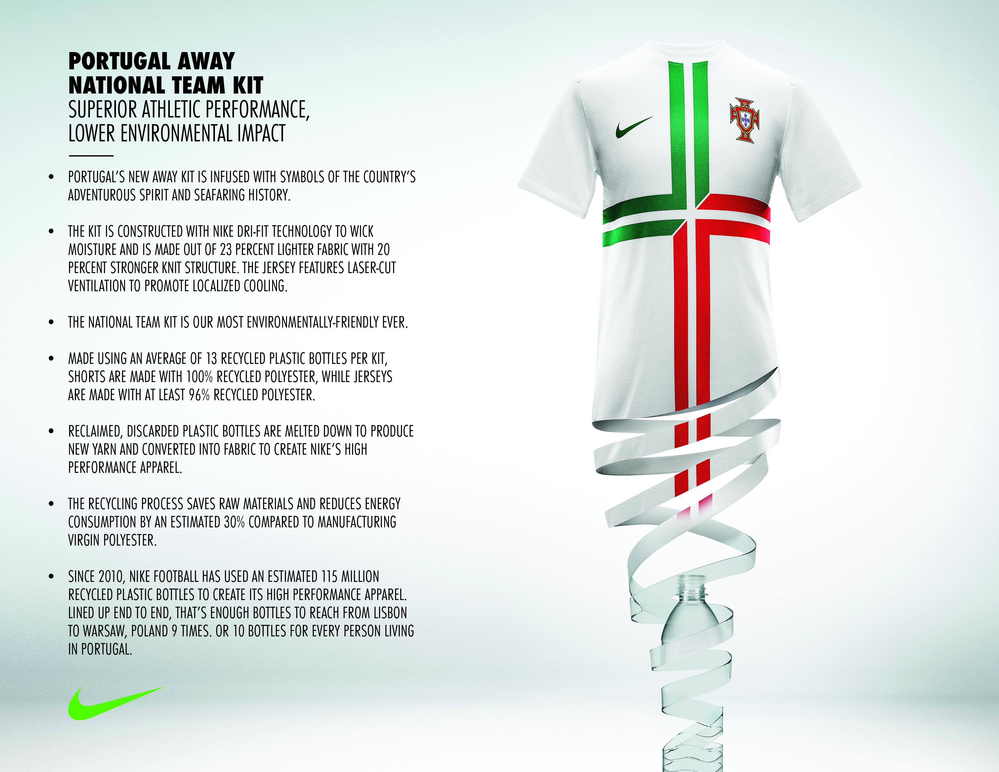 Nike football unveils portugal away national team kit nike news lo hi biocorpaavc