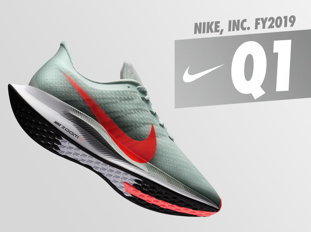 NIKE, Inc. Reports Fiscal 2019 First Quarter Results