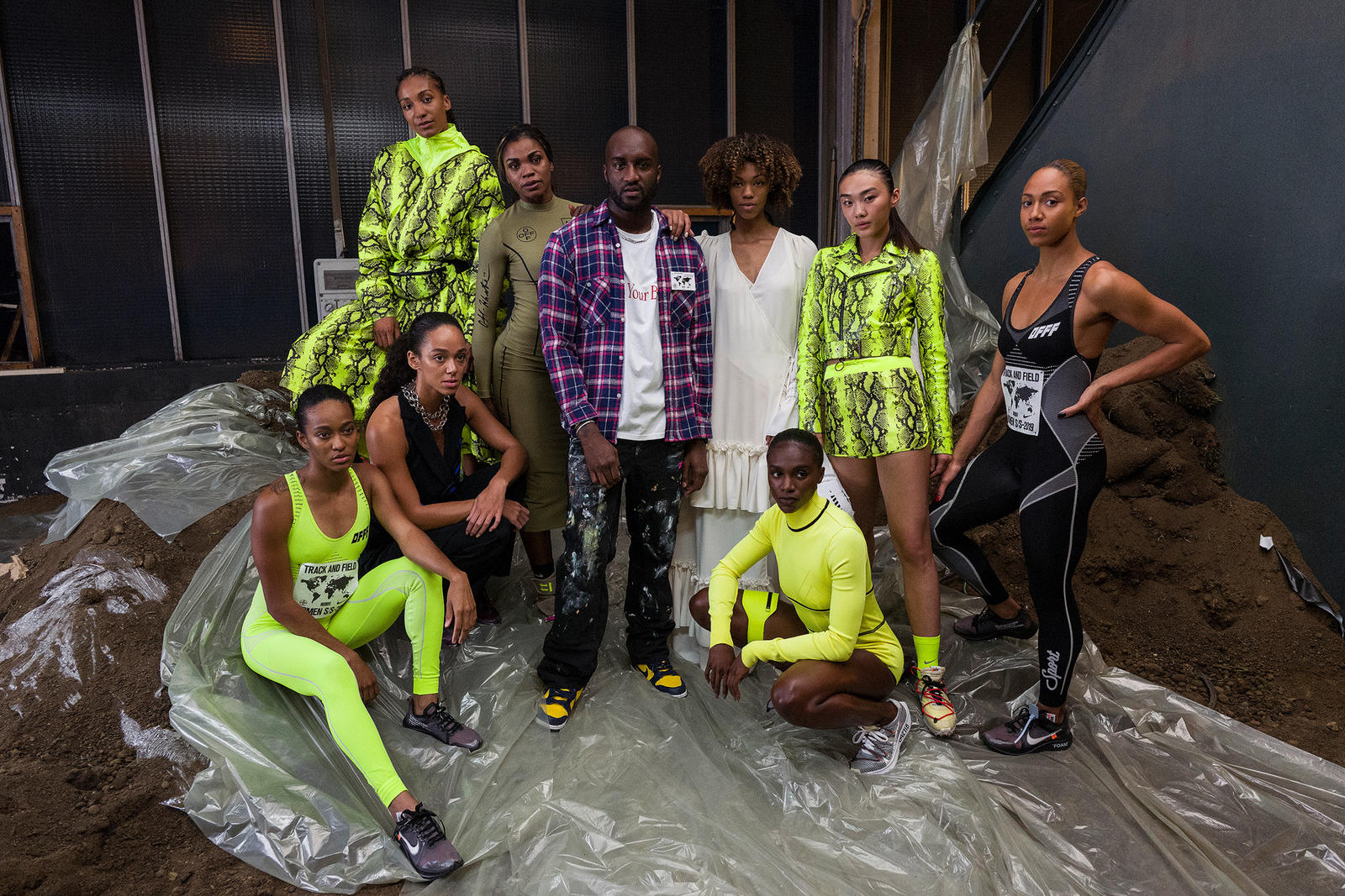 Nike and Virgil Abloh Debut New Track and Field-Inspired Designs in Paris 0