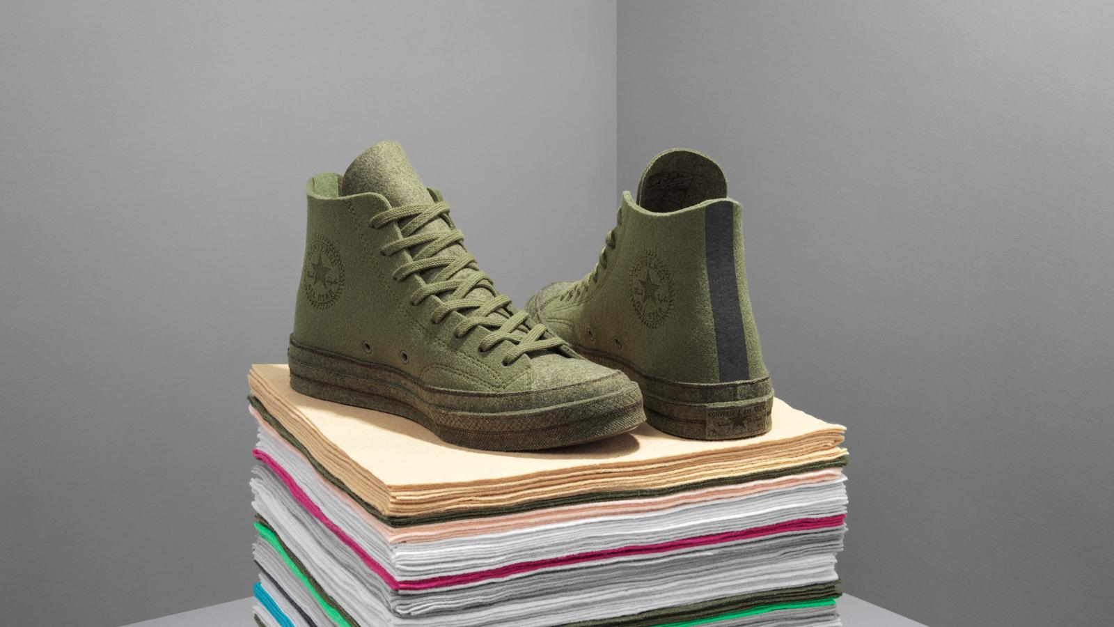 "JW Anderson's ""Felt"" Collaboration Transforms the Chuck 70 1"