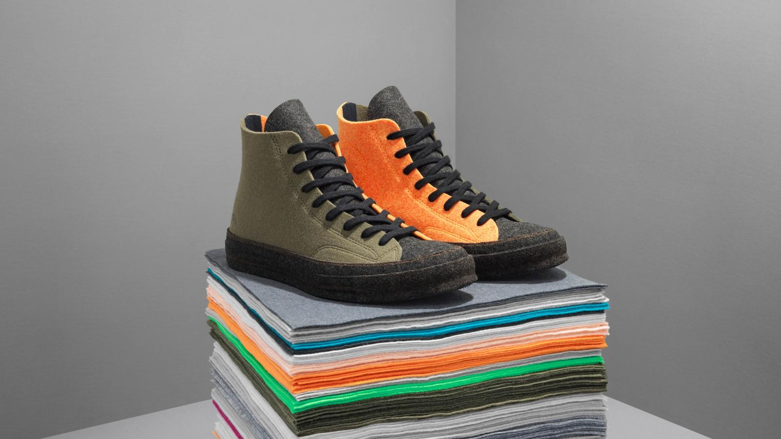 Converse x JW Anderson Felt Chuck 70 High Top in 2019