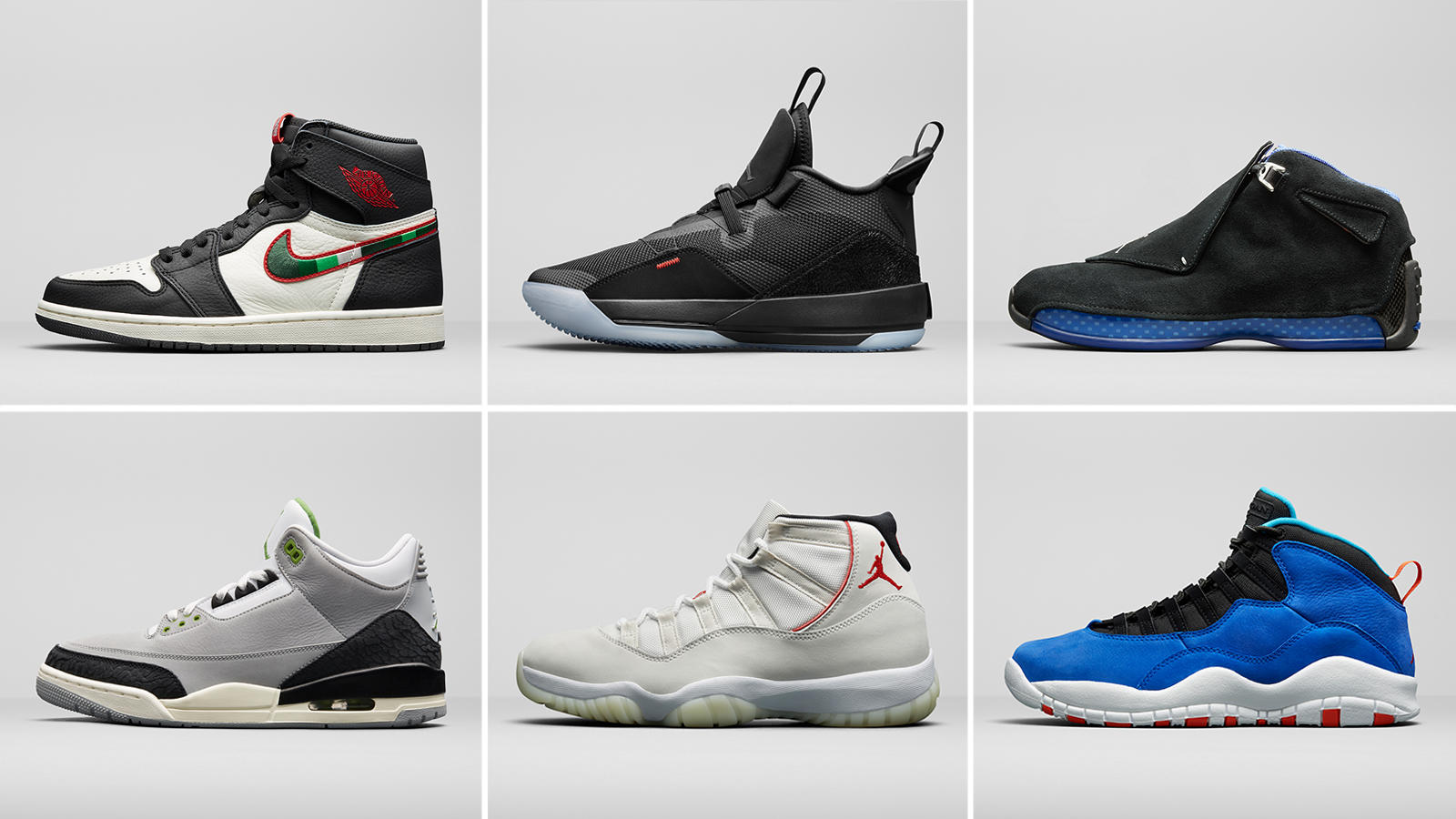 nike air jordan collection
