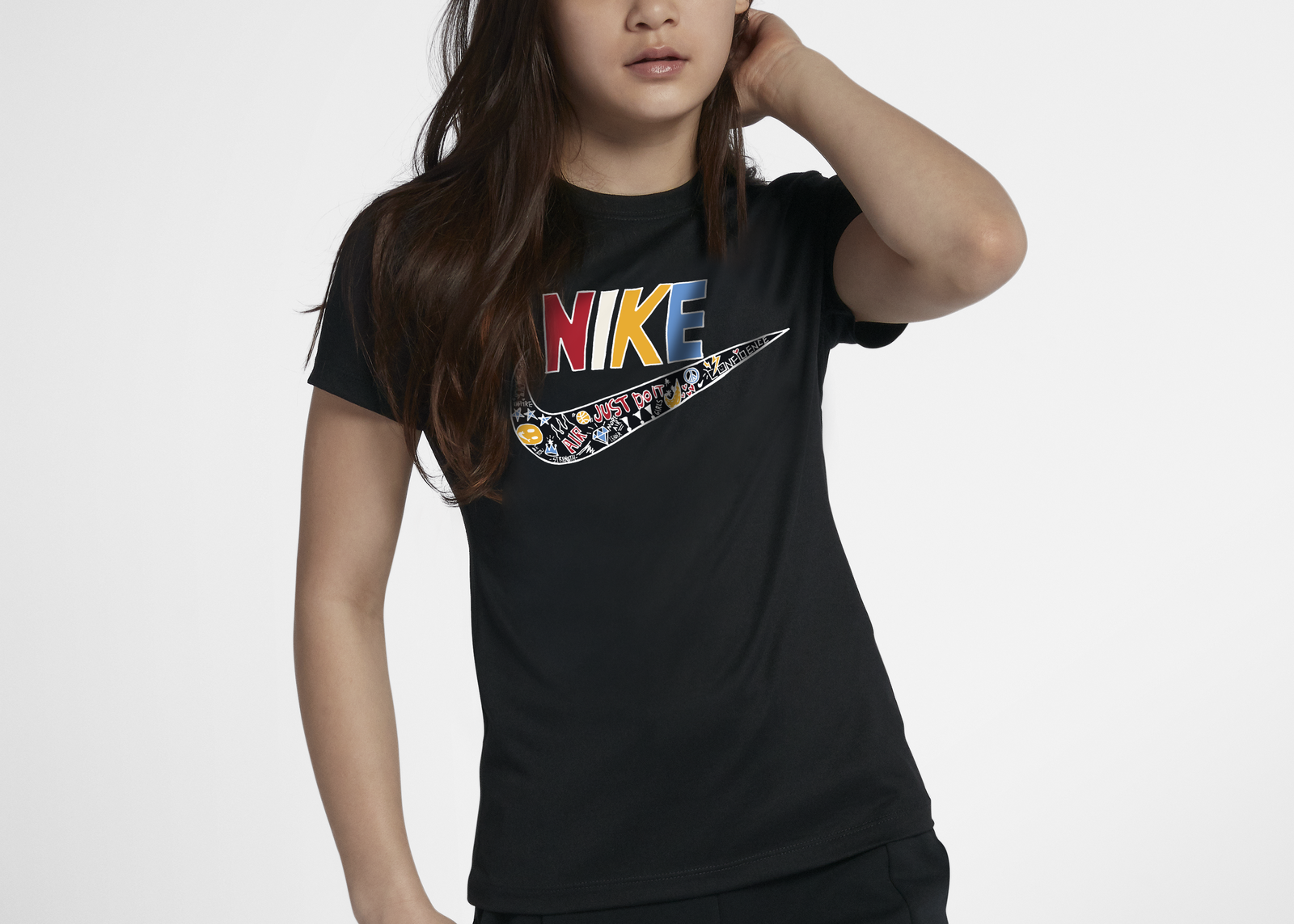 Dear giana nike logo t shirt rectangle 1600