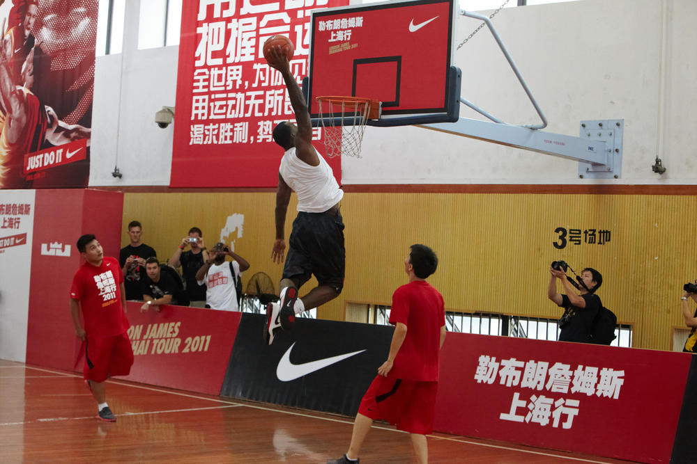 LeBron James wraps up Greater China Tour