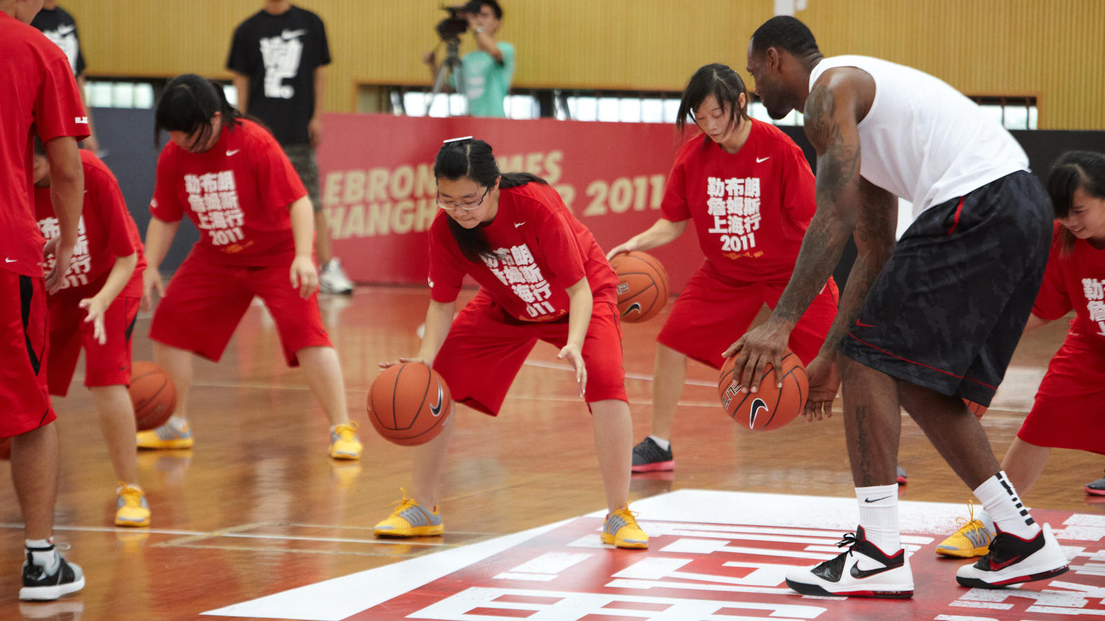 The 2011 LeBron James Greater China Tour wrapped up