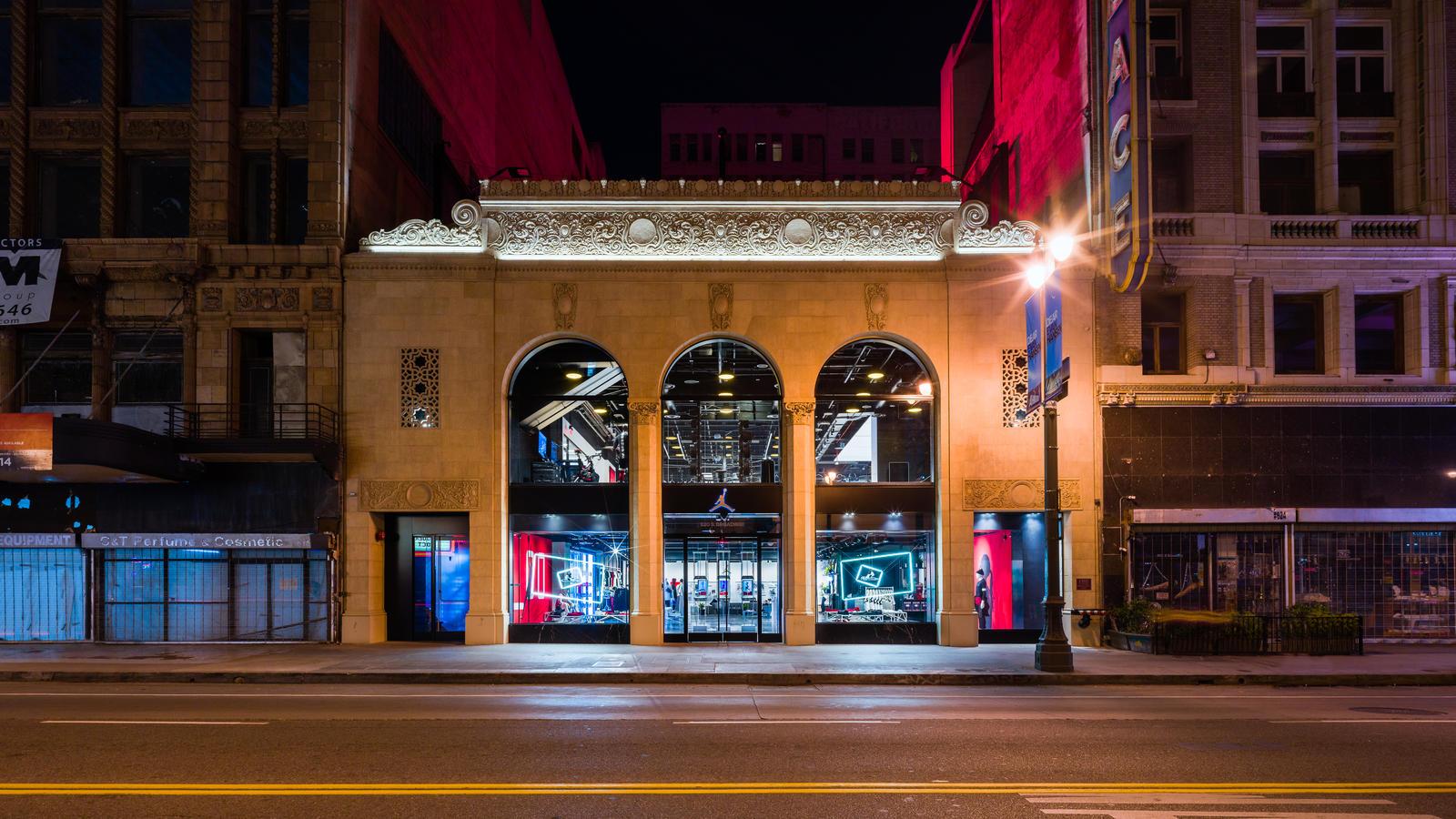 Jordan Brand Jumpman LA Downtown Los Angeles Store - Nike News